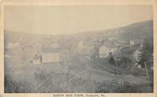 BIRD'S EYE VIEW COALPORT PENNSYLVANIA POSTCARD (c. 1910)