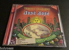 JOSE JOSE / TRIBUTO A LOS GRANDES / INTERPRETADO POR EL GRUPO SANTA CLARA / CD
