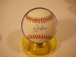 Roberto Alomar Autographed Baseball with Ball Qube