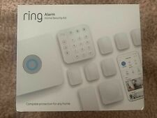 New Sealed Ring Wireless Alarm Home Security System 10-Pc Kit White 2nd Gen