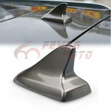 Dark Gray Shark Fin Roof Top Decorative Dummy Antenna Aerial Fit Audi A3 A4  FM