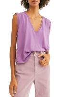 We The Free By Free People Damen Dreamy Muskelshirt Morning Glory Violett XS