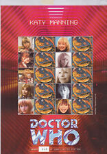 "BC-044 - Doctor Who ""Katy Manning"" Smilers Stamp Sheet - fine used"