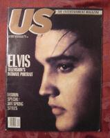US Magazine March 19 1990 Elvis Presley Daniel Day-Lewis Raymond Burr