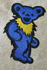 GRATEFUL DEAD DANCING Blue Yellow Pink iron on embroidered patch