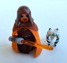 Lego Star Wars Custom Jedi Padawan Ahsoka Tano + Hood, Custom Skirt & Capes