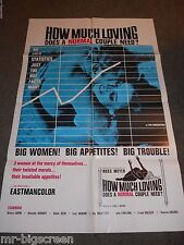 HOW MUCH LOVING DOES A NORMAL COUPLE NEED? - ORIGINAL FOLDED POSTER - RUSS MEYER