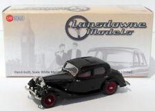 Lansdowne Models 1/43 Scale LDM74A - 1937 Riley 12/4 Continental Sedan - Black