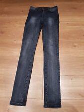 5 Five Units Scarlett Jeans 'Dirt Blue' W28 L34 long skinny black-blue UK 10 38