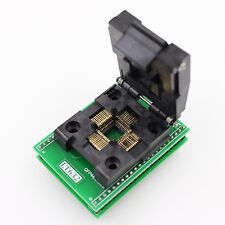 LT632 TQFP44 QFP44 QFP 44 To DIP40 IC Programmer Adapter Test Socket 0.8mm Pitch