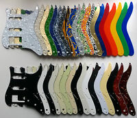 Stratocaster PAF HSS Pickguard 11 hole US spec Strat: various colours 1 3 4 ply