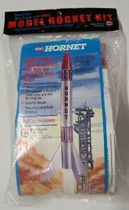 MRC Hornet Flying Model Rocket Kit 1000' High! Vintage Rare OOP NEW SEALED
