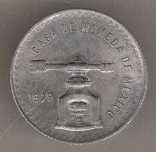 MÉXICO, 1 ONZA PLATA (33,62 grs ley 925 mls) 1979 CASA DE LA MONEDA S/C-