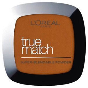 L'OREAL TRUE MATCH SUPER - BLENABLE PERFECTING POWDER 10 D DEEP GOLDEN