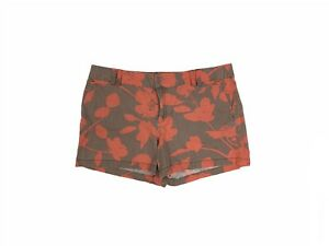 Ann Taylor Loft Women's Size 14 Flat Front Floral Chinos Shorts