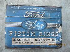 1932 1933 1934 1935 1936 Ford Piston Rings 85 H/P Flathead Aluminum Pistons .015