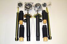 4 gasdruck Stoßdämpfer Serie Satz +4 Domlager +4 Staubschutz BMW 3ER E46 Dämpfer