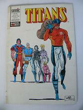 TITANS n° 156 de janvier 1992