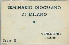 CARTOLINA d'Epoca - VARESE : Venegono - SERIE 9 CARTOLINE SEMINARIO DIOCESIANO