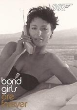 """James Bond In Motion - BG53 """"Kell Tyler"""" Bond Girls Chase Card"""