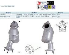 Pot catalytique Skoda Superb 2.5TDI V6 2496cc 120Kw/163cv BDG 8/03>3/08, antérie