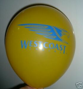 Westcoast Eagles  AFL  Party Balloon - Football balloon PKT 20