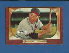 1955 Bowman # 107 Solly Hemus - St L. Cardinals - Vg/Ex+ Additional ship free