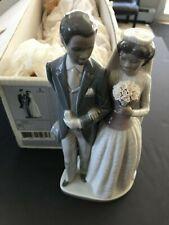 Lladro Figurine Wedding Day Bride Groom Wedding Black Legacy #5274