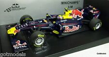 Minichamps 1/18 - 110 110072 RED BULL RENAULT RACING SHOW CAR 2011 M. Webber F1