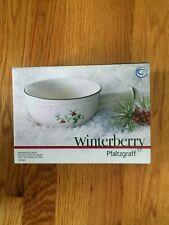 PFALTZGRAFF WINTERBERRY - handled soup Bowl - NEW IN BOX!