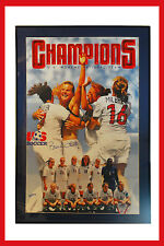 1999 US Women's World Cup Champions Team Autographed by Brandi Chastain Poster