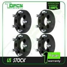 """4X 1.5"""" 5 Lug 5x4.5 Black Wheel Spacers For 1992-2011 Ford Crown Victoria"""