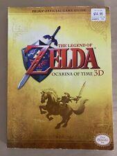 The Legend Of Zelda Ocarina Time 3D Prima Official Game Guide Book - No Poster