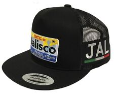 JALISCO PLACA MEXICO 2 LOGOS HAT MESH SNAPBACK ADJUSTABLE JAL 3 COLORS