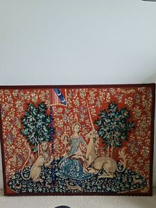 Lady and unicorn tapestry