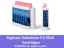 Alginate Substitute Alternative Up To 8 X 50ml Cartridges Fast Set 9010