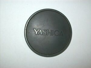 YASHICA 57MM PUSH ON FRONT LENS CAP FOR 55MM FILTER LENS RIM  YASHICA ELECTRO 35