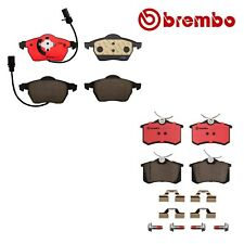For Audi A4 97-06 Front Rear Ceramic Disc Brake Pad Set Brembo P85020N & P85085N