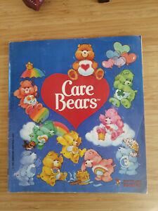 Vintage Panini Trading Sticker Book - Care Bears - 1985 - Complete - 27cm x 24cm