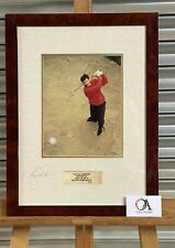 New listing Limited Edition 20/500 Signed Photo Of Nick Faldo Wentworth 1995 - Golf Interest