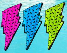 Airtime Bolt Air Mat Neon Pink Blue Green Lightning Pool Inflatable