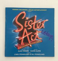 Whoopi Goldberg Signed Sister Act The Musical CD  Original London Cast Recording