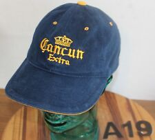 88b1c374376 CORONA EXTRA BEER HAT BLUE EMBROIDERED STRAPBACK ADJUSTABLE VERY GOOD COND  A19