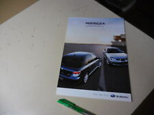 SUBARU IMPREZA  Japanese Brochure 2005/12 GG2 GG3 GD2 GD3 EJ15