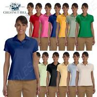 Chestnut Hill Polo Shirt Women's Performance Plus Jersey Top S-2XL CH180W