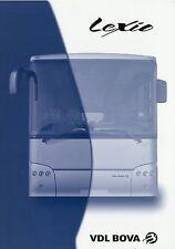 VDL Bova Lexio Prospekt 2006 9/06 Bus Busprospekt Omnibus Reisebus brochure