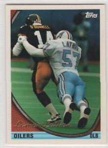 1994 Topps Houston Oilers football team set