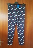 ADIDAS ORIGINALS Leggings Leggins Freizeithose Pants 38 M NEU blau TOP Baumwolle