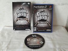 Guitar Hero Metallica - Complete Game PAL - Sony Playstation 2 (PS2)