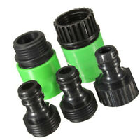 5pcs Set Garden Water Hose Pipe Adaptor Connector Repairer Accessory 2019